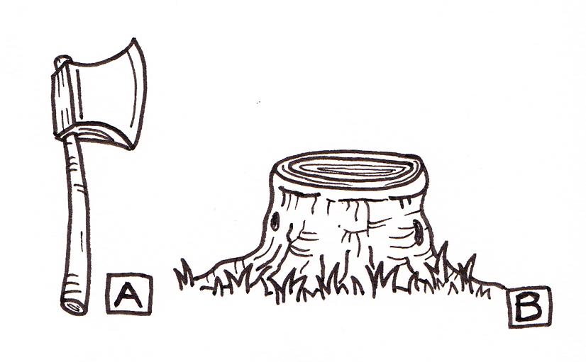 Axe & Log