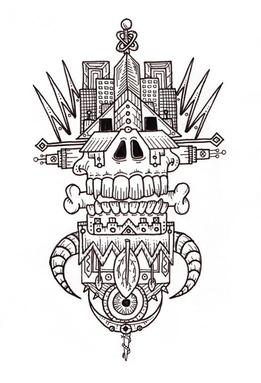 Geo Skull