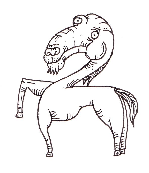 Horse-goat?